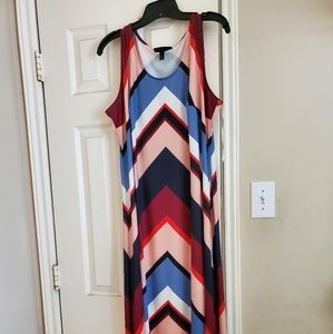 NWT Lane Bryant Hi/Lo Hem Maxi dress 14/16